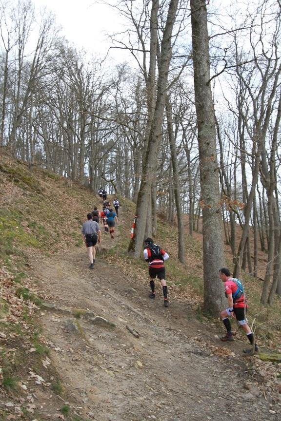 Trail d'Auffargis c'est 1300mD+ sur le 42km et 800mD+ sur le 24km